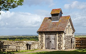 Cliffe, Kent - Charnel House in May 2015.