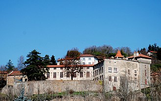 Bellegarde-en-Forez - The chateau in Bellegarde-en-Forez