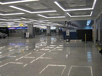 Belgrade Nikola Tesla Airport - Terminal 2 check-in area