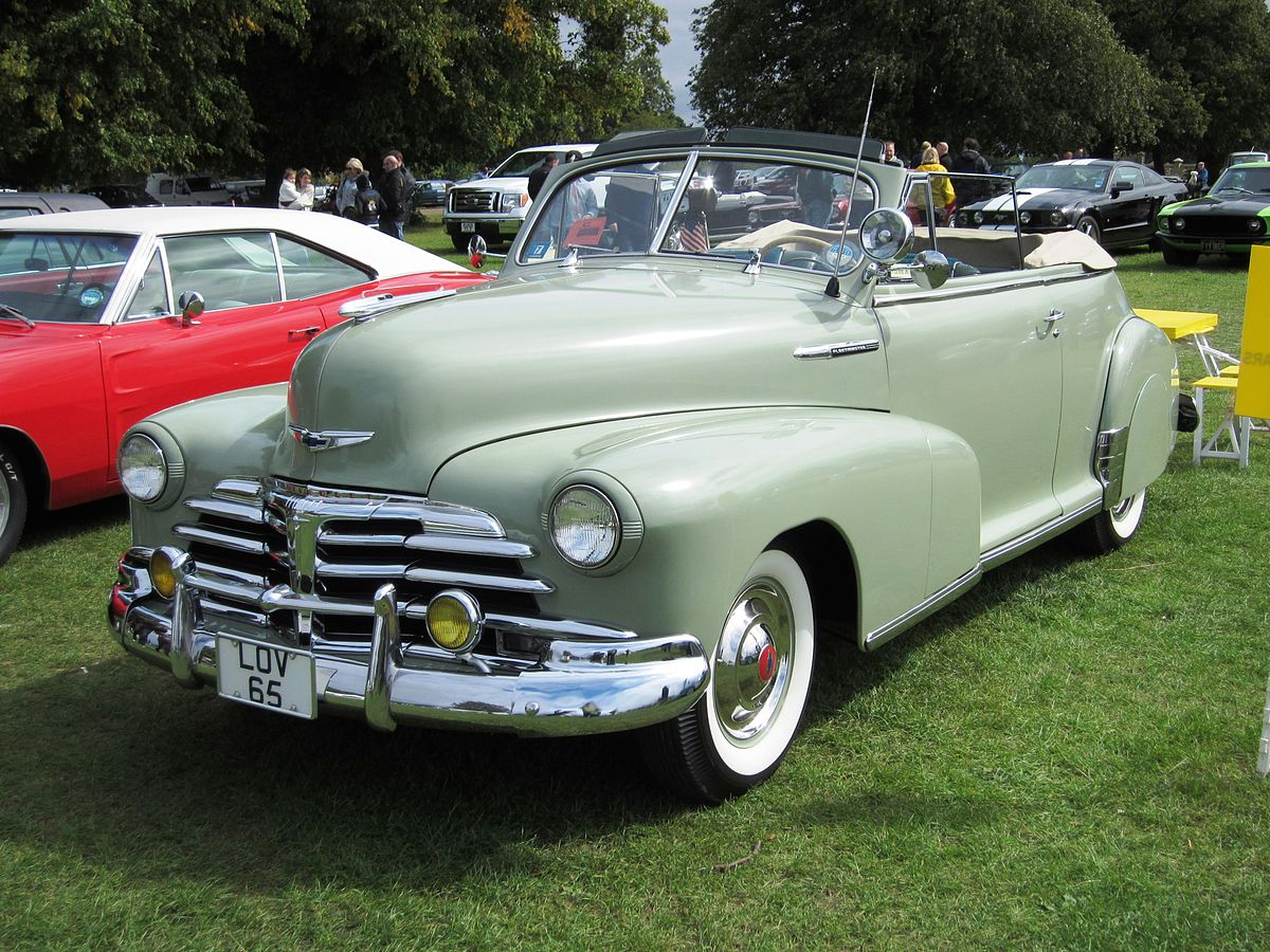 Coupe 1948 chevy stylemaster coupe for sale : Chevrolet Fleetmaster - Wikipedia