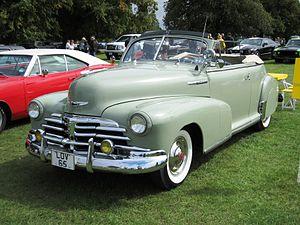 Chevrolet Fleetmaster - 1948 Chevrolet Fleetmaster Convertible