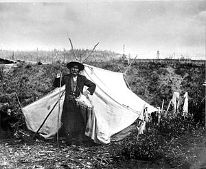 Yukon - Chief Isaac of the Hän, Yukon Territory, 1898