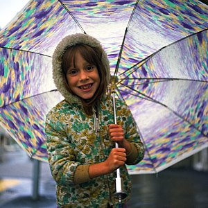 Umbrella - Child with umbrella