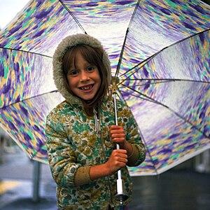 Umbrella - Child with umbrella