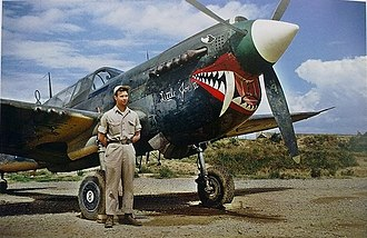 Kunming - The Flying Tigers and P-40 Warhawk in Kunming Air Base, 1944