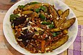 Chinese stir-fried vegetables with minced meat (5993310313).jpg