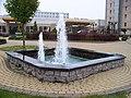 Chodovec, Top Hotel, fontána (01).jpg