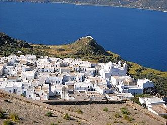 Milos - Chora (Plaka) of Milos