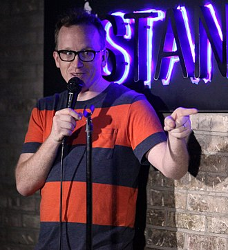 Chris Gethard - Gethard performing in New York City in July 2016.