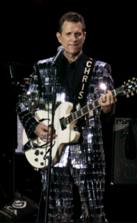 Chris Isaak American rock musician