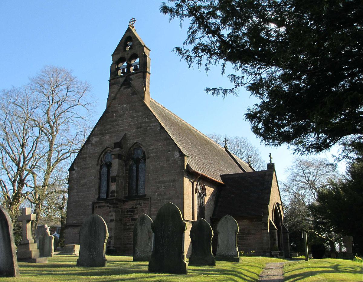 Christ Church Picture: Christ Church, Crowton