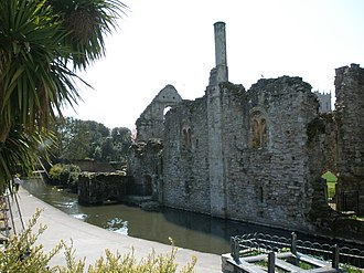 Listed buildings in Christchurch, Dorset - Image: Christchurch Castle Constable's House