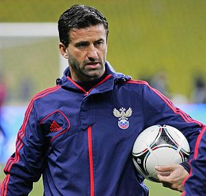 Christian Panucci - Panucci working with Russia as the team's assistant coach in 2012.