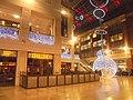 Christmas decorations at the Light, Leeds (12th December 2018) 001.jpg