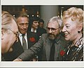 Christopher Plummer, Norman Jewison and Minister of Communications Flora MacDonald in 1987. (48198888636).jpg