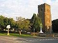 Church and War Memorial, Silsoe, Beds - geograph.org.uk - 50076.jpg