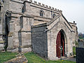 Church of the Holy Cross Great Ponton Lincolnshire England - south porch.jpg