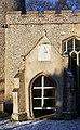 Church porch and sundial, Little Saxham - geograph.org.uk - 1111768.jpg