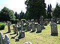 Churchyard, All Saints Church, Dibden - geograph.org.uk - 868132.jpg