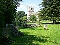 Churchyard, St Peter's Church - geograph.org.uk - 1442806.jpg