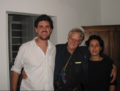 Cicero da Silva, Ted Nelson and Jane de Almeida in Brazil, 2005.png