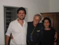 Cicero da Silva, Ted Nelson and Jane de Almeida in Brazil, 2005.png