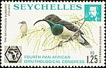 Cinnyris dussumieri 1976 stamp of Seychelles.jpg