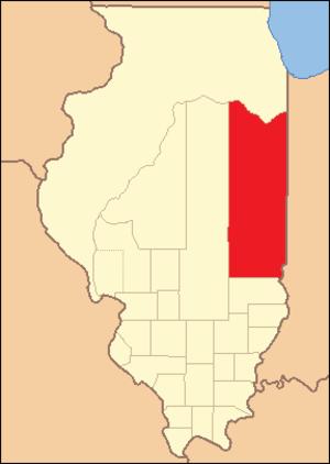 Clark County, Illinois - Image: Clark County Illinois 1821