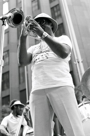 Clark Terry 52nd Street Jazz Fair, July 6, 197...