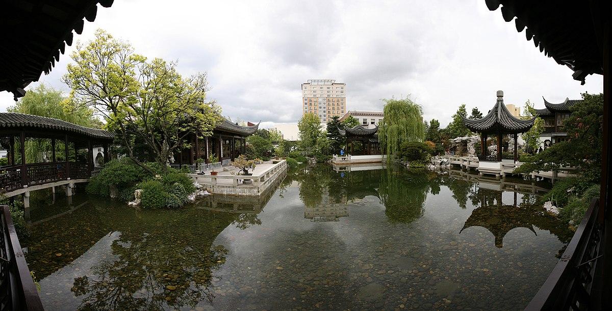 lan su chinese garden wikipedia - Chinese Garden Portland