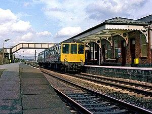 British Rail Class 104 - Image: Class 104 at Castleton