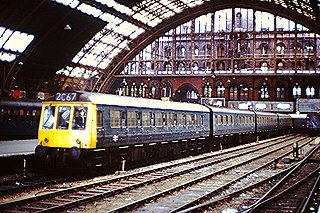 class of 30 four-car suburban diesel multiple units built by Derby C&W Works