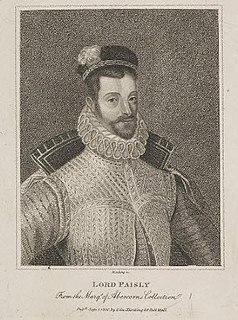 Claud Hamilton, 1st Lord Paisley 17th-century Scottish lord