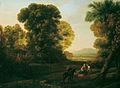 Claude Lorrain Bewaldete Landschaft 1630.jpg