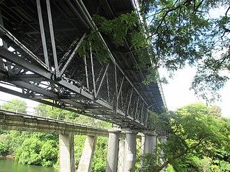 Claudelands Bridge - Claudelands rail and road bridges.