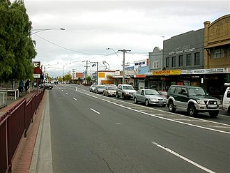 Clayton, Victoria - Clayton Road Shopping Precinct