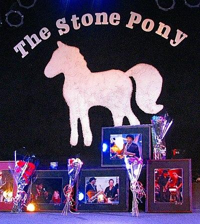 Clemons memorial at Pony 400