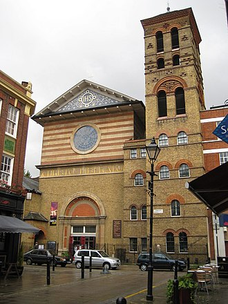 J. D. Sedding - Church of Our Most Holy Redeemer, Exmouth Market