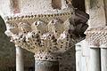 Cloître de la cathédrale Saint Lizier-Chapiteau (Palmettes)-20150502.jpg