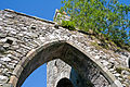 Clonmines Friary South Aisle Arch and Tower 2010 09 27.jpg