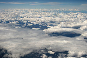 """The two main cloud types are Stratocumul..."