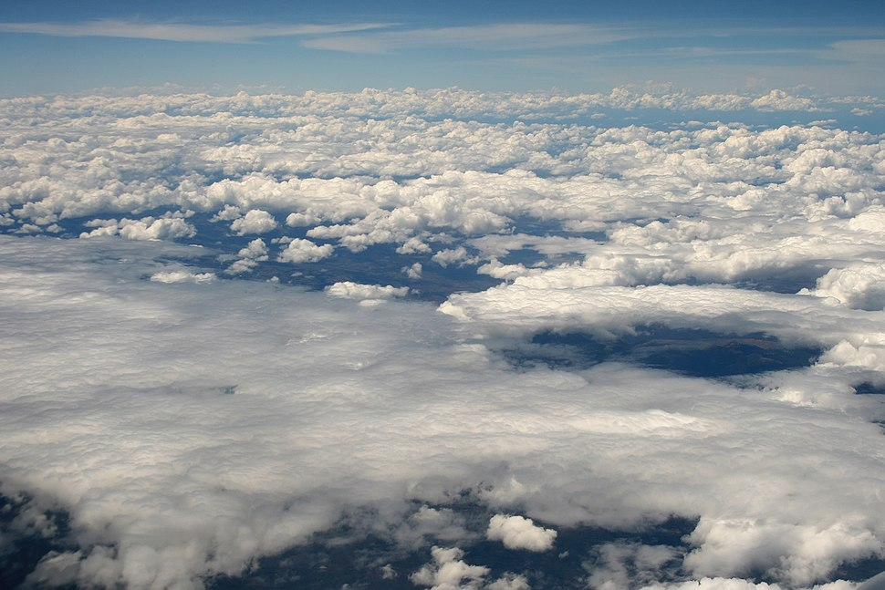 Clouds over Africa