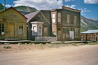 ghost town in Colorado