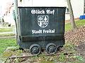 Coal wagon in Niederhäslich (Freital) 001.JPG