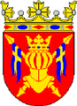 Coat of arms of Finland Proper in Finland.png