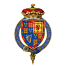Coat of arms of James FitzJames, 1st Duke of Berwick, KG.png