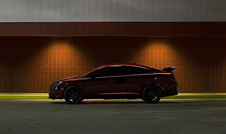 Chevrolet Cobalt SS - Supercharged coupe in sport red tint coat, an extra cost paint option that became available in 2007