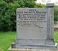 Cofeb Tom Nefyn Williams Memorial - geograph.org.uk - 507861.jpg