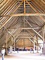 Coggeshall-Grange barn(inside looking south).JPG