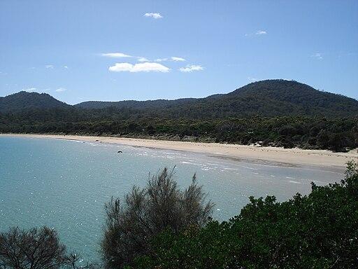 Coles bay beach